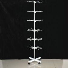 Sock Rotating Spinner Display Stand Floor 7 Tier Retail Rack Jewellery Hold
