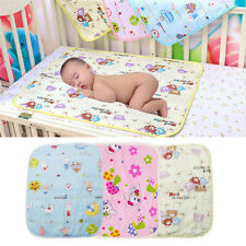 Baby Kid Diaper Mat Cartoon Urine Mat Changing Pad For Infants Stroller Washable