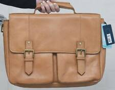 """New Hidesign Charles 12166E 17"""" Laptop iPad Tablet Padded Leather Briefcase Case"""
