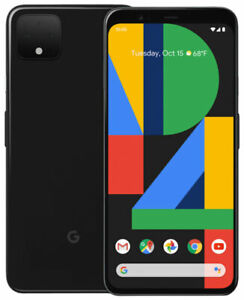 Verizon Google Pixel 4 XL 64GB Just Black GA01180-VZW.Bat health 100% Good IMEI