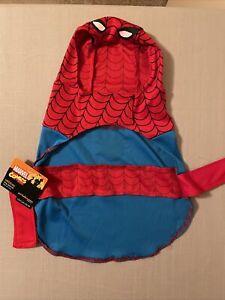 Marvel Amazing Spider-Man Dog Halloween Costume Size Medium Spiderman