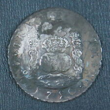 Mexico 1750 Mo MF 8 Reales Silver Crown,