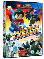 Brand New Lego Justice League  Attack of the Legion of Doom DVD 2015 Free P&P
