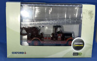 New Boxed Oxford Diecast Commercials 1:76 76TLM003 Newcastle City Fire Leyland