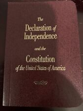 The Declaration of Independence and The U.S. Constitution - small pocket edition