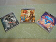3game Lot PS3 Games Jak and Daxter Collection  Bejeweled 3, And Reflex MX vs ATV
