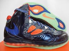 NIKE AIR MAX HYPERPOSITE HYPER BLUE ENERGY GLOW IN THE DARK SZ 11 [524862-402]