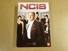 7-DISC DVD BOX / NCIS - NAVAL CRIMINAL INVESTIGATIVE SERVICE - SEASON 3