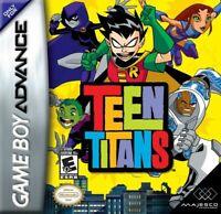 Nintendo GameBoy Advance Spiel - Teen Titans Modul