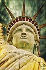 Statue of Liberty New York USA 12x8 Inch Photograph