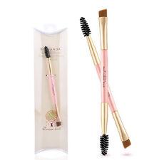 Bambú Cepillos Pincel Para cejas Brocha máscara Peine Maquillaje