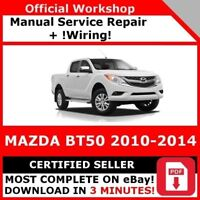 FACTORY WORKSHOP SERVICE REPAIR MANUAL MAZDA BT50 2010-2014 WIRING