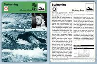 Murray Rose - Swimming - 1977-9 Sportscaster Rencontre Card