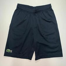 Lacoste Mens Sport Tennis Light Weight Pants Ultra Dry Shorts XS Fr 2 Navy Blue