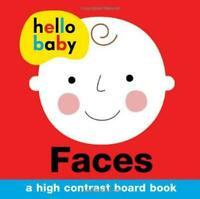 Faces (Hello Baby) by Priddy, Roger, NEW Book, FREE & FAST Delivery, (Board book