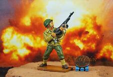 K1098 WW2 1:32 US 101th Airborne Bar Gunner Soldier Reiben Saving Private Ryan