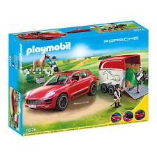Playmobil 9376 Porsche Macan GTS with Horse Trailer Playset
