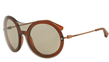 NEW EMPORIO ARMANI OVERSIZED SUNGLASSES EA 4055 5427/73 BROWN COPPER