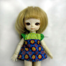 Hujoo Baby Suve Ted Is Obitsu 11cm Bjd Doll Fashion Outfit Green Flower Dress