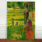 "Georges Seurat The Couple ~ FINE ART CANVAS PRINT 36x24"""