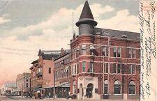 c.1905 Corner Drug Store other Stores Franklin St. Tampa FL post card DPO ?