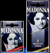 Madonna Nudes 1979 Condoms 3 & 6 Pack Box Set Unopened Rare Like A Virgin