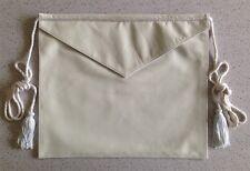 Masonic Presentation Apron - Genuine Leather (L201)