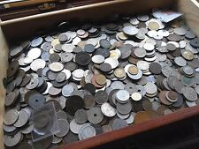 Bargain BUY - 150 world/Old English Coins, bulk lot mixed bag coins.