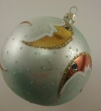 Chrisropher Radko Crescent Moons Christmas Ornament Celestial Sherbit Retired
