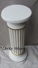 Säule Säulen Blumensäule Dekosäule Barock Podest Tisch Crem Gold Optik 1002 F108