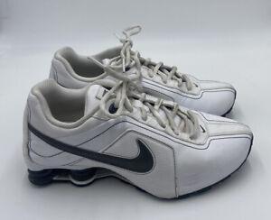 Nike Shox Classic II Women's Running Shoes 407905-101 White Black 6Y