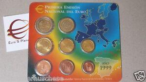 1999 SPAGNA 8 monete 3,88 euro espagne spanien espana spain Испания