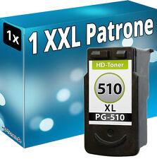 XL TINTE PATRONEN für CANON PG-510 PIXMA MP250 MP280 MP495 MP270 MP490