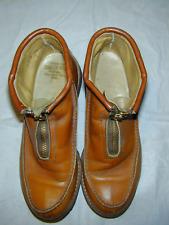 Ladies Vintage Women's Zip Chukka Boots Winter Crepe Moccasin
