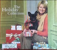 Martha Stewart The Holiday Collection Music Recipies Tips and Crafts 3 CDs