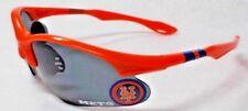 READ LISTING! New York Mets BULLSEYE 3D logo on ORANGE Blade Sunglasses!
