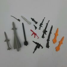 "Vintage Hasbro GI JOE Weapon Lot (3.75"" figures) Guns/Missiles Plastic Weapons"