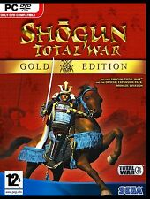SHOGUN TOTAL WAR.GOLD EDITION. BRAND NEW SEALED FOR PC.SHIPS FAST and SHIPS FREE