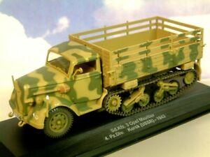 EAGLEMOSS 1/43 GERMAN OPEL MAULTIER SD.KFZ 3 HALF TRACK 4TH PZ. DIV. RUSSIA 1943