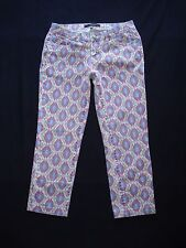 BDG Urban Outfitters sz 28 Ankle Cigarette Skinny Crop Jeans Mid Rise Ikat Capri
