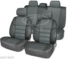 FORD FOCUS 3 11- SEAT COVERS Jacquard and leatherette
