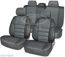 Mitsubishi Outlander 2001-2006 SEAT COVERS Jacquard and leatherette