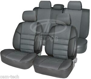 Renault Dacia Logan 2004-2014 SEAT COVERS Jacquard and leatherette