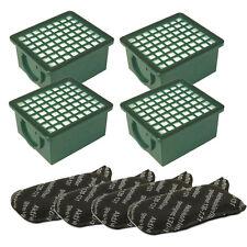 4 Hepa Filter H12 + 4 Motorschutzfilter geeignet für Vorwerk Kobold 130  131
