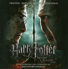 Harry Potter and the Deathly Hallows, Pt. 2 [Original Motion Picture Soundtrack] by Alexandre Desplat (CD, Jul-2011, Sony Classical)