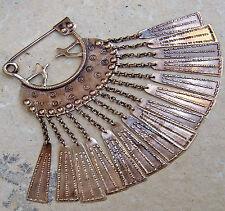 sehr stabile Replik Gehängefibel Fibel Wilzhofen Kelten Mittelalter aus Bronze