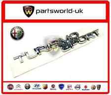 Alfa Romeo Chrome Effect Turismo Sport Badge MiTo Giulietta 156 159 147 Genuine