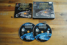 Jeu STAR WARS REBEL ASSAULT II sur Playstation 1 PS1 (one) REMIS A NEUF