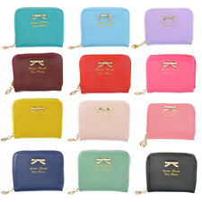 Women Ladies Leather Wallet Small Zip Purse Card Phone Holder Case Clutch