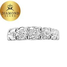 .43 CT EACH STONE CUSHION SHAPE DIAMOND SIXTEEN STONE 6.93 CTTW PLATINUM